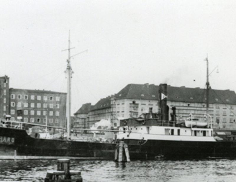 Wrak parowca SS Eberhard