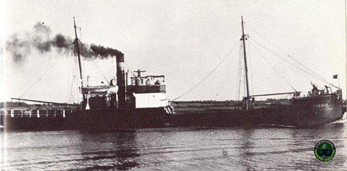 Zatonięcie parowca Elbing IX